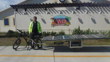 Un Bruxellois va traverser 3940 km de la Route 66 en vélo solaire