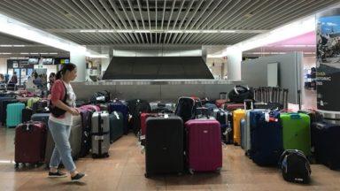 Bagages bloqués à Brussels Airport : bientôt un nouveau système de tri de bagages, selon l'UBT