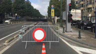 Tunnels Léopold II et Rogier, avenue Charles Quint,… : plusieurs chantiers vont perturber la circulation cet été à Bruxelles