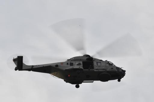 En Belgique, il n'y avait plus de pilote dans l'hélicoptère