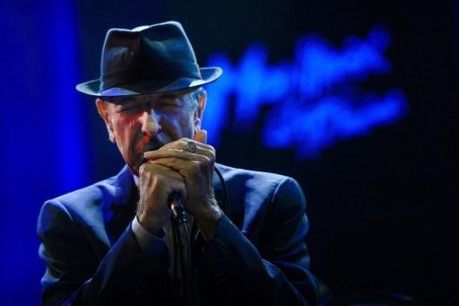 Leonard Cohen: les stars réunies pour un grand spectacle à Montréal