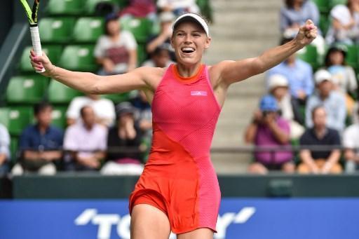 Wozniacki conserve son titre à l'Open du Japon — Tennis