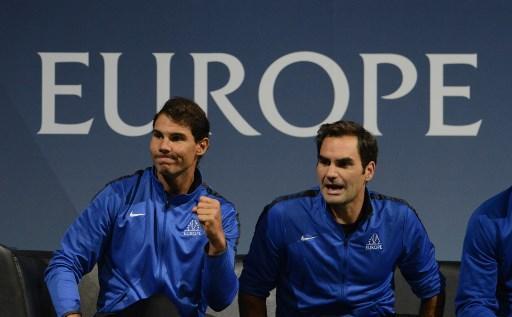 Roger Federer étincelant face à Sam Querrey — Laver Cup