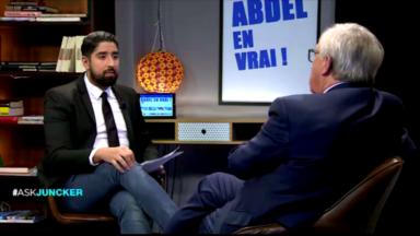 Abdel en Vrai interpelle Juncker sur l'abattage rituel et sur la discrimination envers les femmes voilées