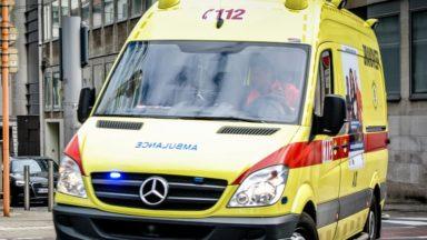 Haren : un homme grièvement blessé lors d'un accident de voiture