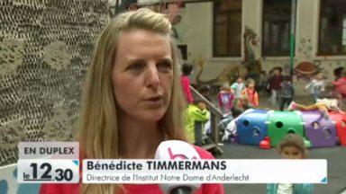 Anderlecht : les parents de l'école Notre-Dame invités à reprendre leurs enfants pendant le temps de midi