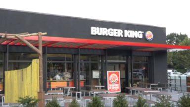 Burger King ouvre son 1er restaurant en Région bruxelloise : Actiris signe une convention avec le géant américain