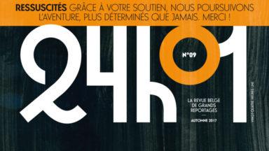 Après avoir lutté pour sa survie, le magazine belge 24h01 sort un nouveau numéro