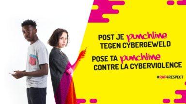 Mia Lena et Jay MNG proposent aux jeunes de rapper contre la cyberviolence et le harcèlement