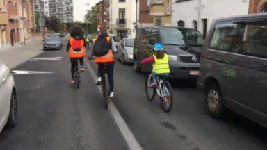 Anderlecht : l'école des Trèfles propose des formations vélo à ses élèves