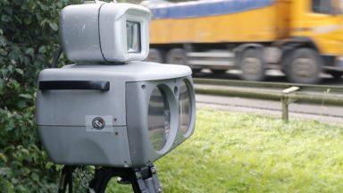 La police de Bruxelles-Ouest a contrôlé lundi la vitesse de près de 11.000 véhicules