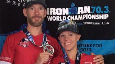 Triathlon : les Bruxellois Pauline et Jean-Philippe Selleslagh ont participé à leurs premiers Mondiaux