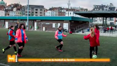 Le football féminin ne s'arrête plus de séduire à Bruxelles
