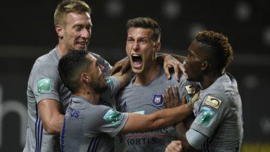 Coupe de Belgique : Anderlecht-Standard se jouera le 29 novembre