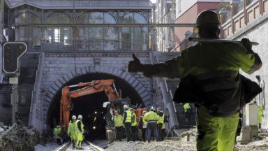 Saint-Josse : le trafic ferroviaire entre Bruxelles-Schuman et Bruxelles-Nord sera bien rétabli lundi