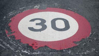 Près d'un million d'euros pour sécuriser les zones 30 dans neuf communes de la Région bruxelloise