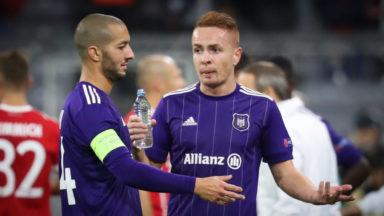 Ligue des Champions : Anderlecht, réduit à 10, perd 3-0 contre le Bayern Munich