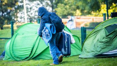 """Philippe Close : """"L'évacuation du parc Maximilien n'a aucun lien avec le Tour de France"""""""