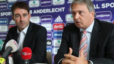 René Weiler en a eu définitivement marre quand Anderlecht a marqué à Courtrai