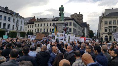Un millier de manifestants à Bruxelles contre les violences en Birmanie
