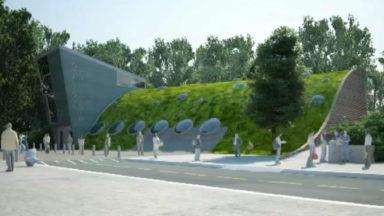 Bientôt un nouveau bâtiment pour les jardiniers et gardiens au Jardin Botanique