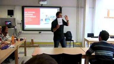 La Ville de Bruxelles accueille ses nouveaux enseignants pour éviter qu'ils changent de cap