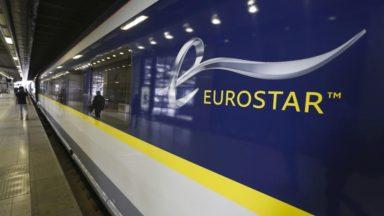 La circulation de l'Eurostar entre Londres et Bruxelles retardée dimanche soir