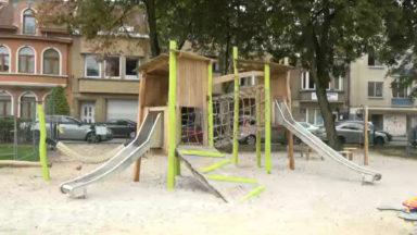 Evere a inauguré une plaine de jeux écologique grâce à ses habitants