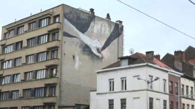 Apparition d'une nouvelle fresque à caractère sexuel à Bruxelles