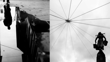 Depuis 5 ans le Colombien Jorge Hortua photographie Bruxelles en noir et blanc