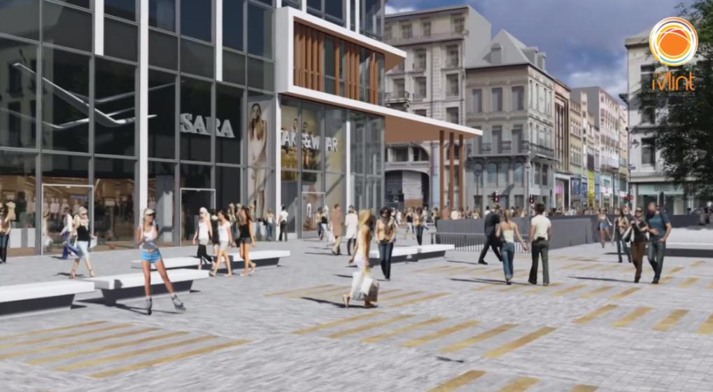Le nouveau centre commercial monnaie bruxelles ouvrira - Centre commercial les portes de chevreuse ...