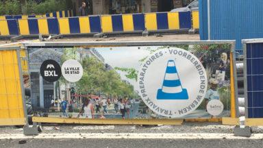 Piétonnier : la Ville de Bruxelles autorise la reprise du chantier le samedi