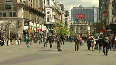 La criminalité en baisse sur le piétonnier bruxellois depuis son inauguration