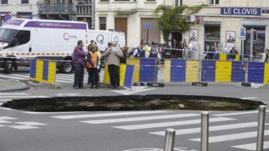 Saint-Josse: les travaux de la chaussée de Louvain devraient durer jusqu'aux fêtes de fin d'année