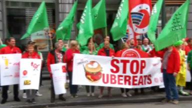Action contre l'arrivée d'UberEats chez McDonald's