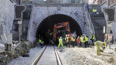 Infrabel : d'importants travaux vont débuter dans le tunnel Clovis