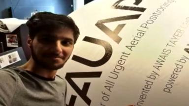 Un jeune Molenbeekois invente une technologie humanitaire révolutionnaire