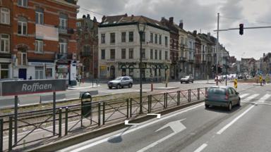 Plusieurs voitures se sont retrouvées sur les rails du tram à Roffiaen