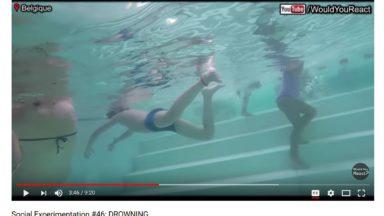 «Would You React» simule des noyades dans une vidéo pour sensibiliser les citoyens à réagir