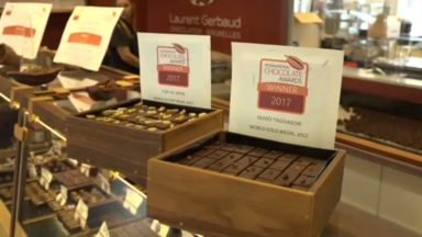 Le chocolatier Laurent Gerbaud reçoit la médaille d'or aux International Chocolate Awards