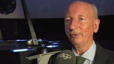 Le planétarium de Bruxelles met à l'honneur Dirk Frimout, 1er Belge dans l'espace voici 25 ans
