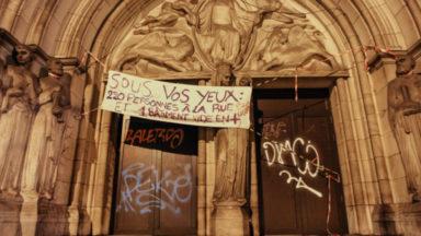 Saint-Josse: le Gesù toujours vide cinq ans après l'expulsion de 220 personnes