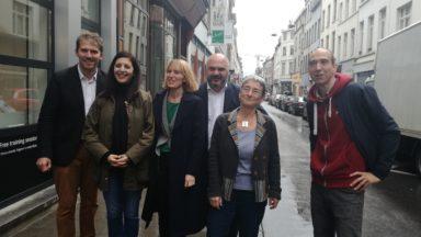 Communales 2018 : la liste Ecolo, avec Doulkeridis, Lhoest et Khattabi, vise le maïorat à Ixelles