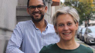 Communales 2018: Catherine Morenville et Mohssin El Ghabri emmèneront la liste Ecolo à Saint-Gilles