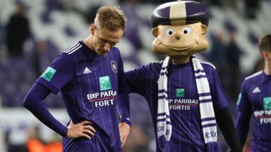 Le RSC Anderlecht perd son 3e match de championnat face à Genk (0-1) et échoue à la 5e place