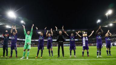Football : dans 2 jours, Anderlecht sera face à l'ogre parisien