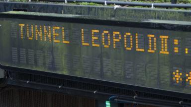 Tunnel Leopold II : des embarras de circulation à signaler ce mardi matin suite à deux accidents