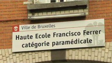 Fin de la grève étudiante à la Haute école Francisco Ferrer à Bruxelles