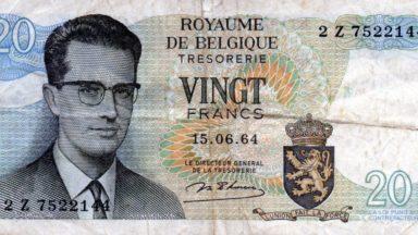 Plus de 100.000 euros pour des anciens billets de banque belges aux enchères