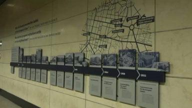 Une frise sur l'histoire du quartier européen inaugurée dans la gare de Bruxelles-Schuman